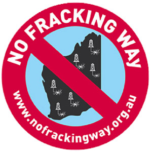 No Fracking WAy - Affiliate project working fighting fracking in WA