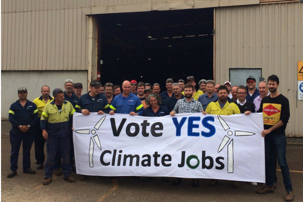 Friends of the Earth working with workers and unions on renewable energy targets