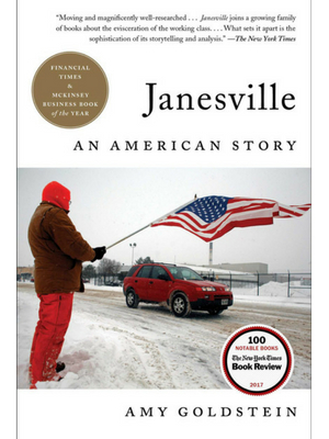 Cover of Janesville: An American Story by Amy Goldstein