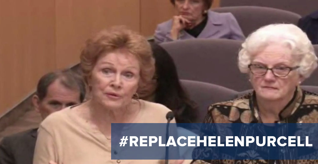 Replace Helen Purcell