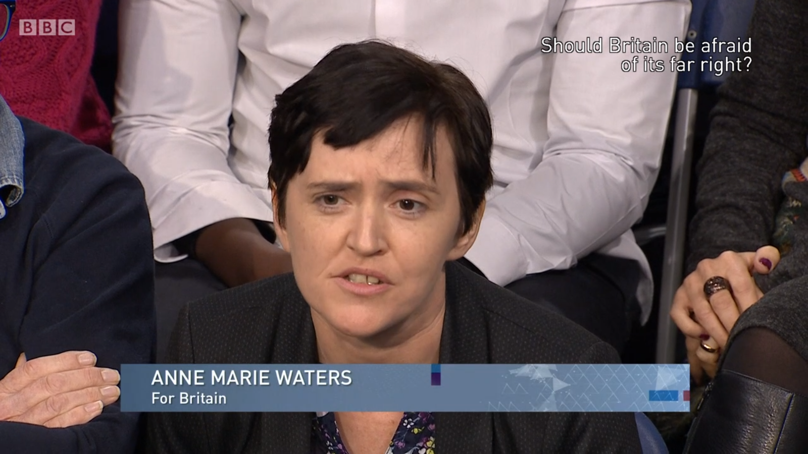 Anne Marie Waters BBC Big Question