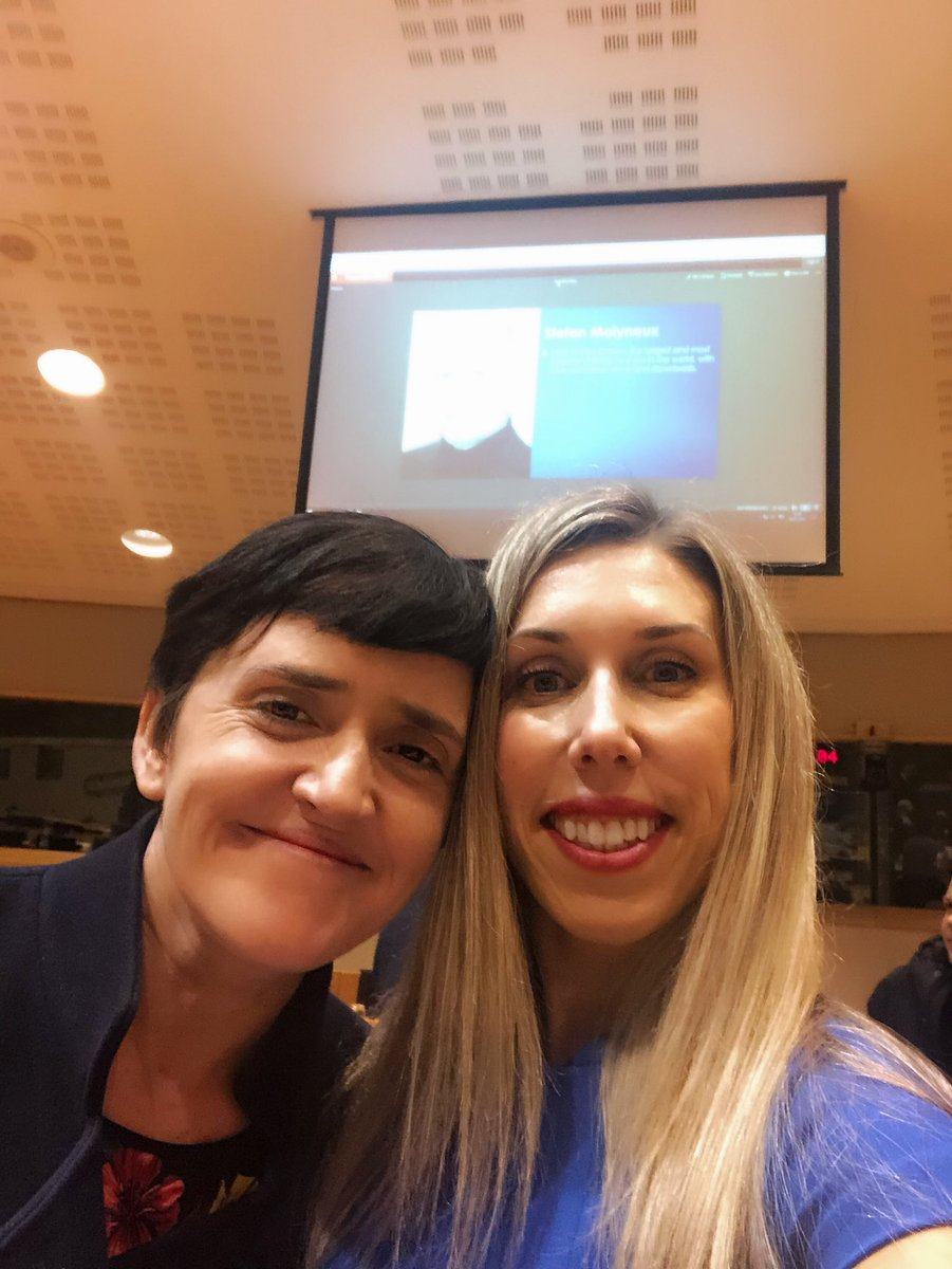 Anne Marie Waters and Amy Mek