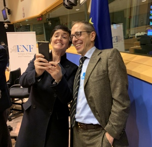 Anne Marie Waters and James Delingpole