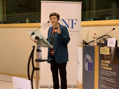 Anne Marie Waters Brussels Speech