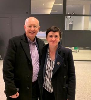 Anne Marie Waters and David Vance MENL Brussels