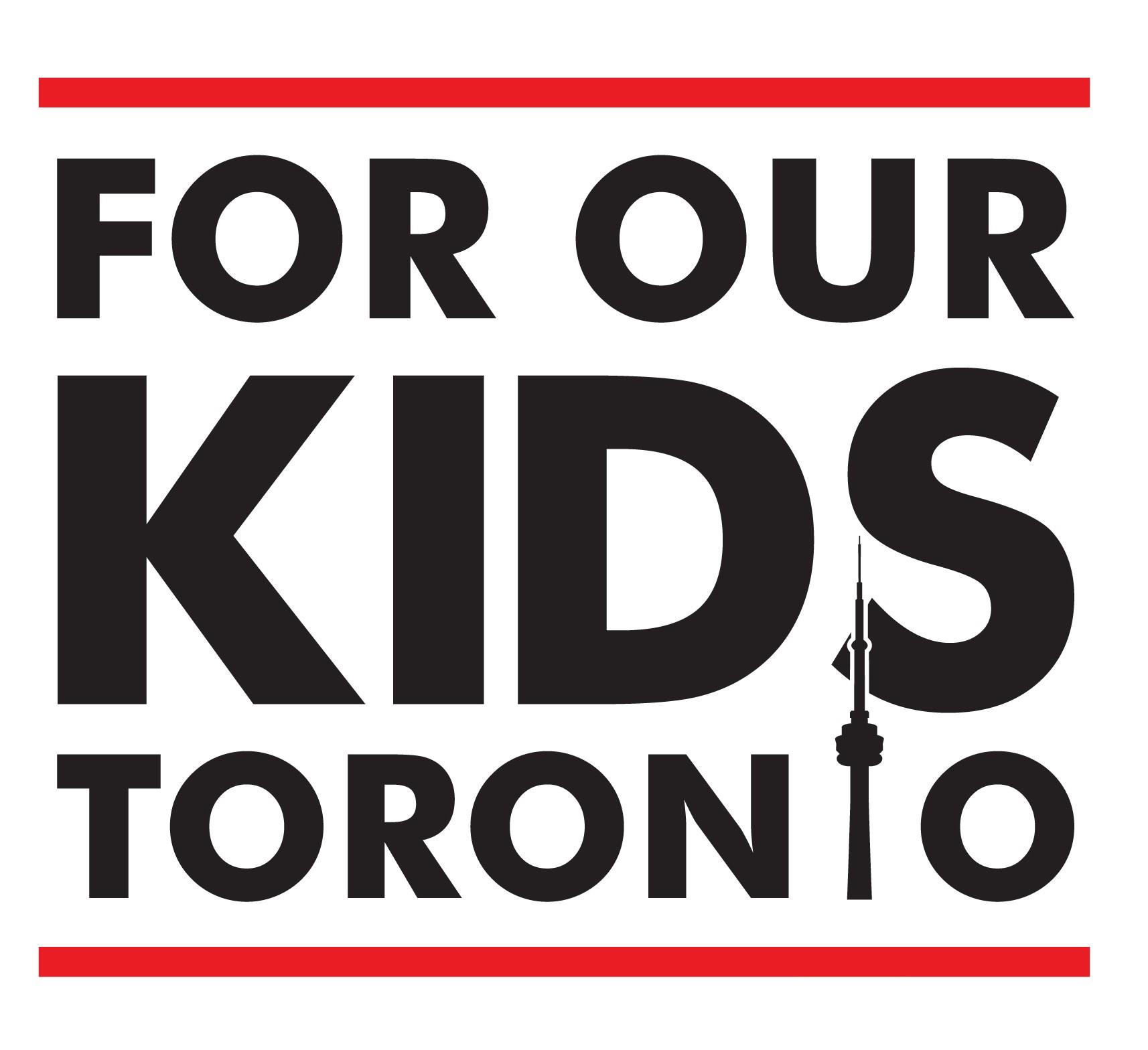 For Our Kids Toronto Logo