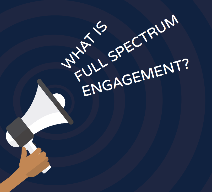 What is full spectrum engagement?