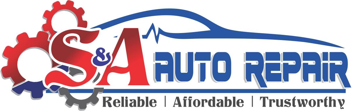 S&A Auto Repair Logo