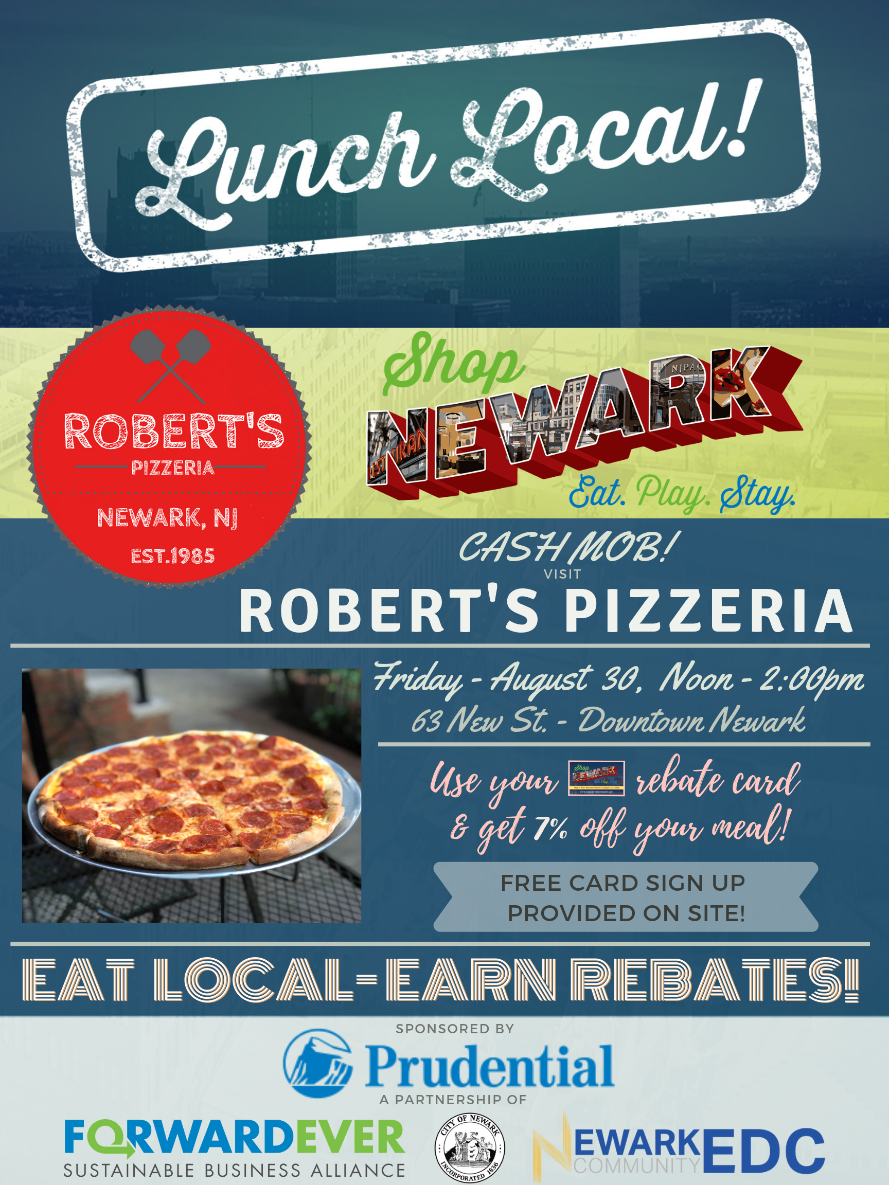 Lunch Local with Rob's Pizza