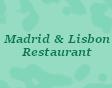Madrid & Lisbon Restaurant Logo