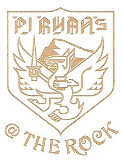 PJ Ryans at the Rock logo