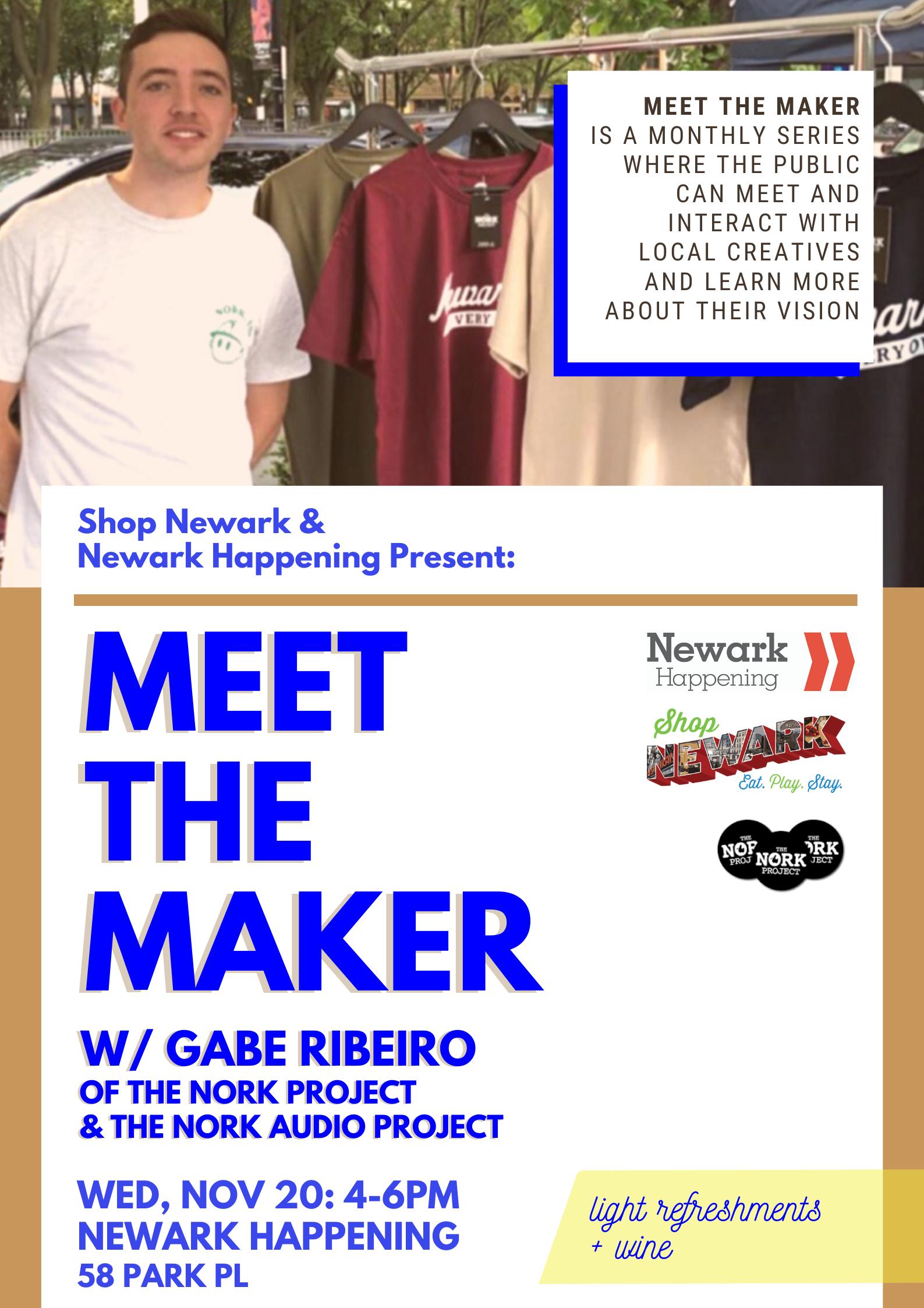 Meet the Maker Poster