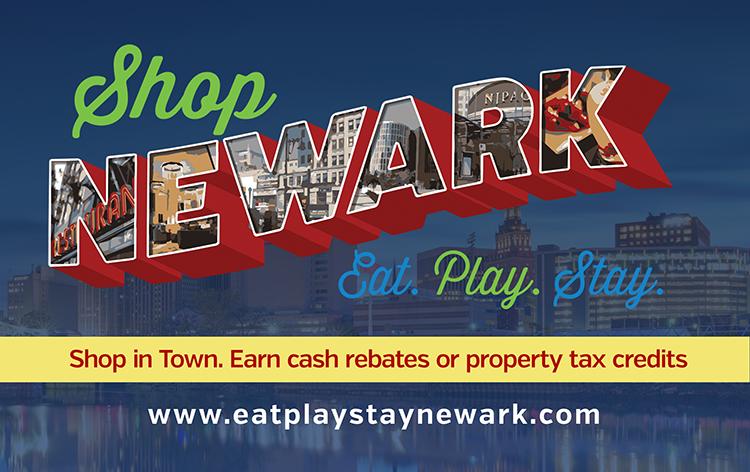 Shop Newark Card