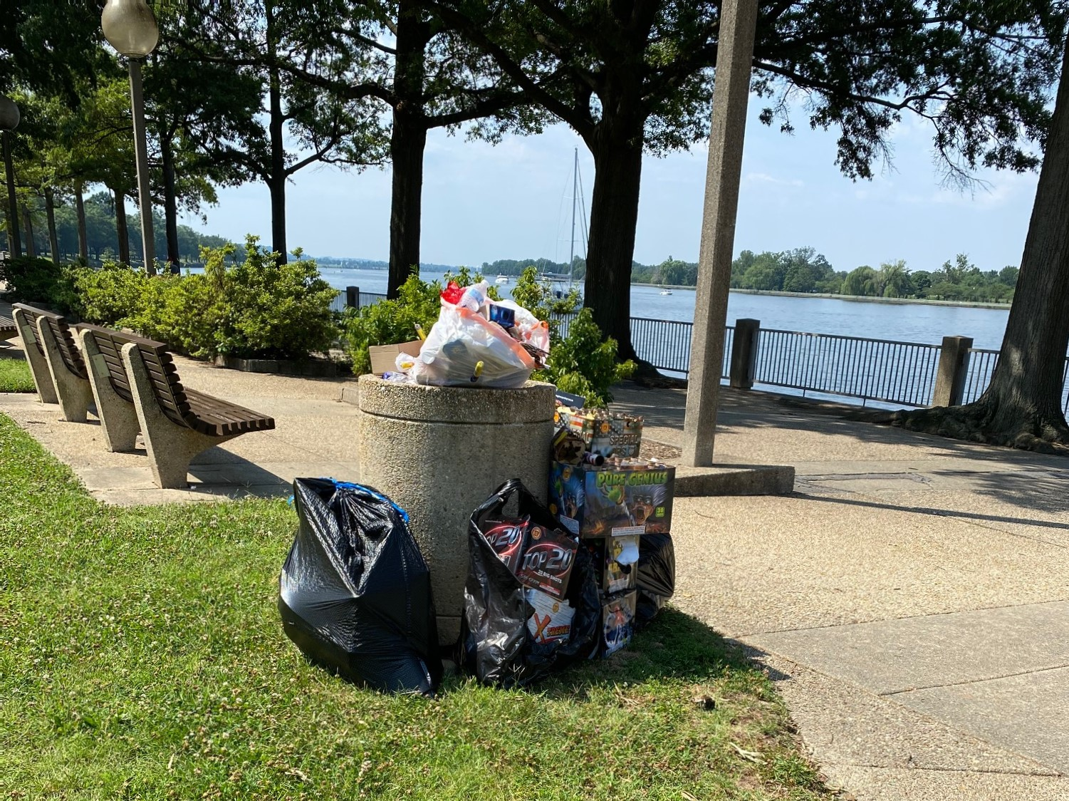 July 5 Cleanup