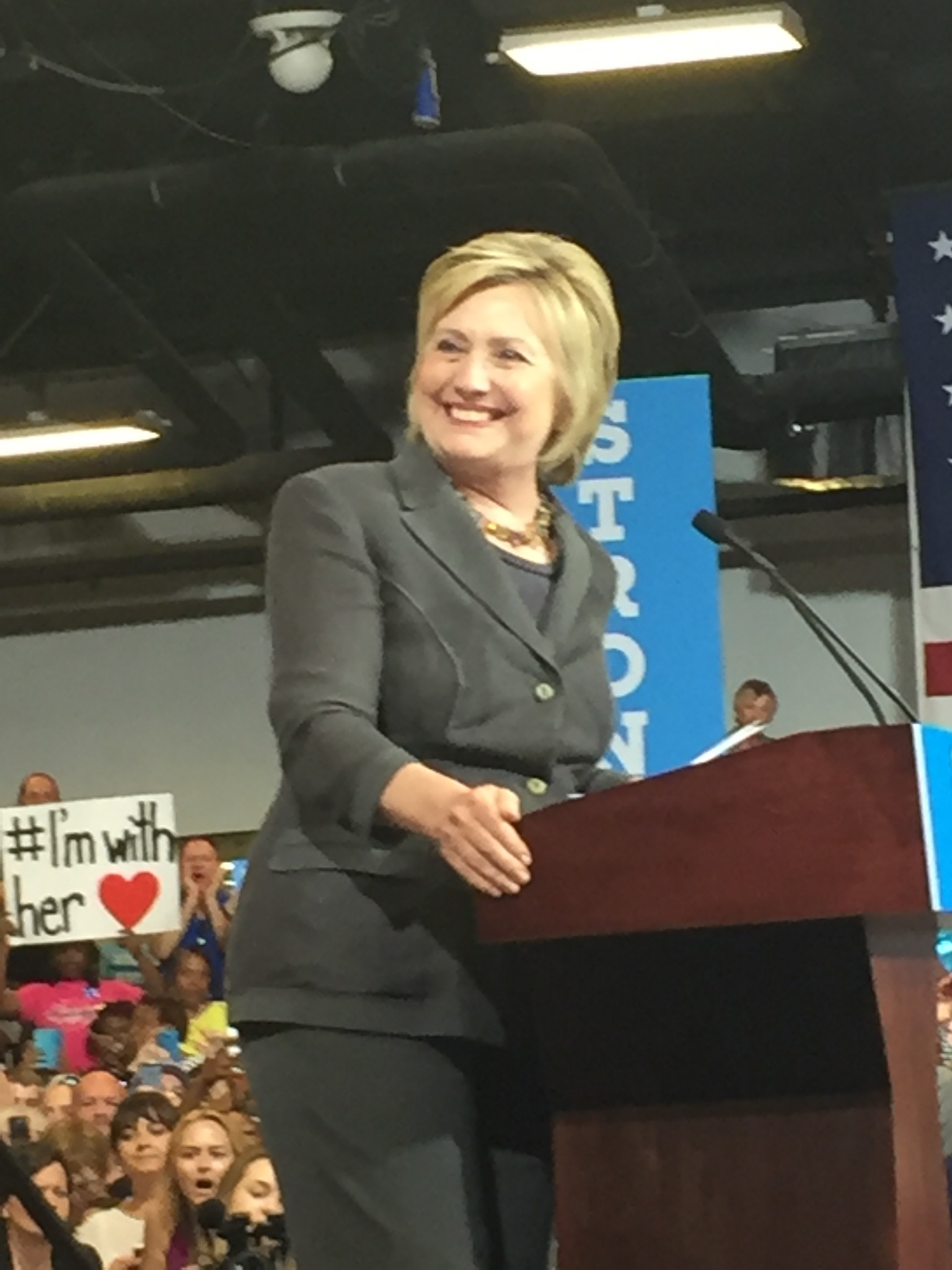 Secretary Clinton in Raleigh