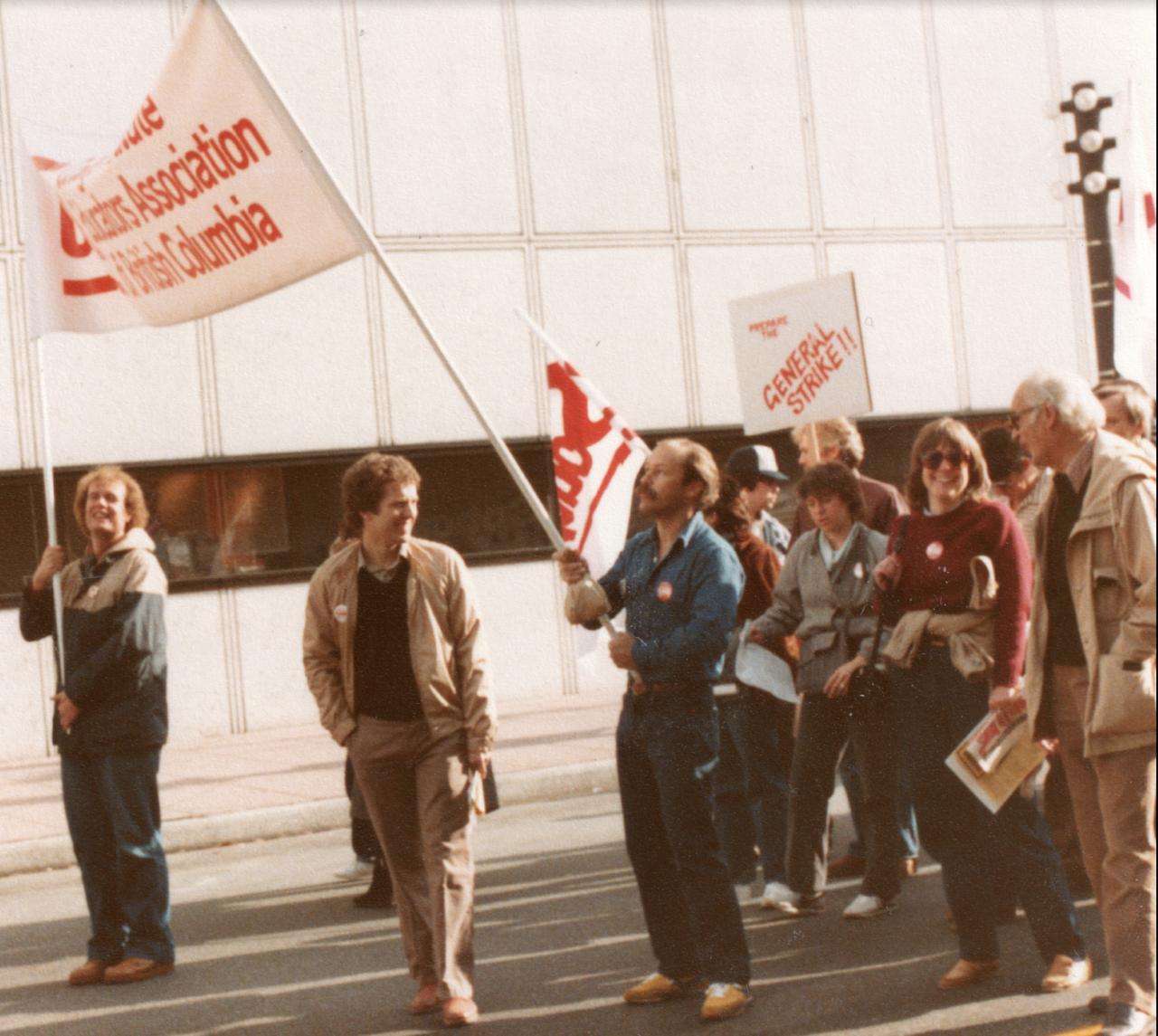 DKFA solidarity picture 1983