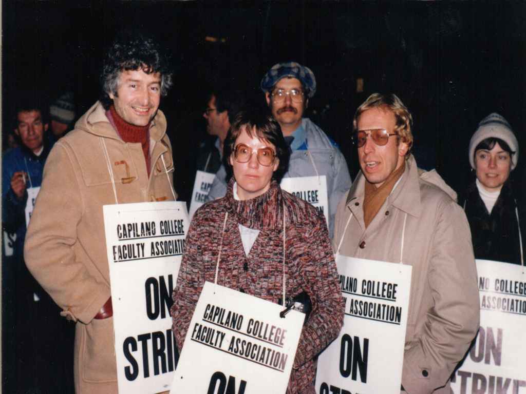 1985 Capilano College Strike Lockout