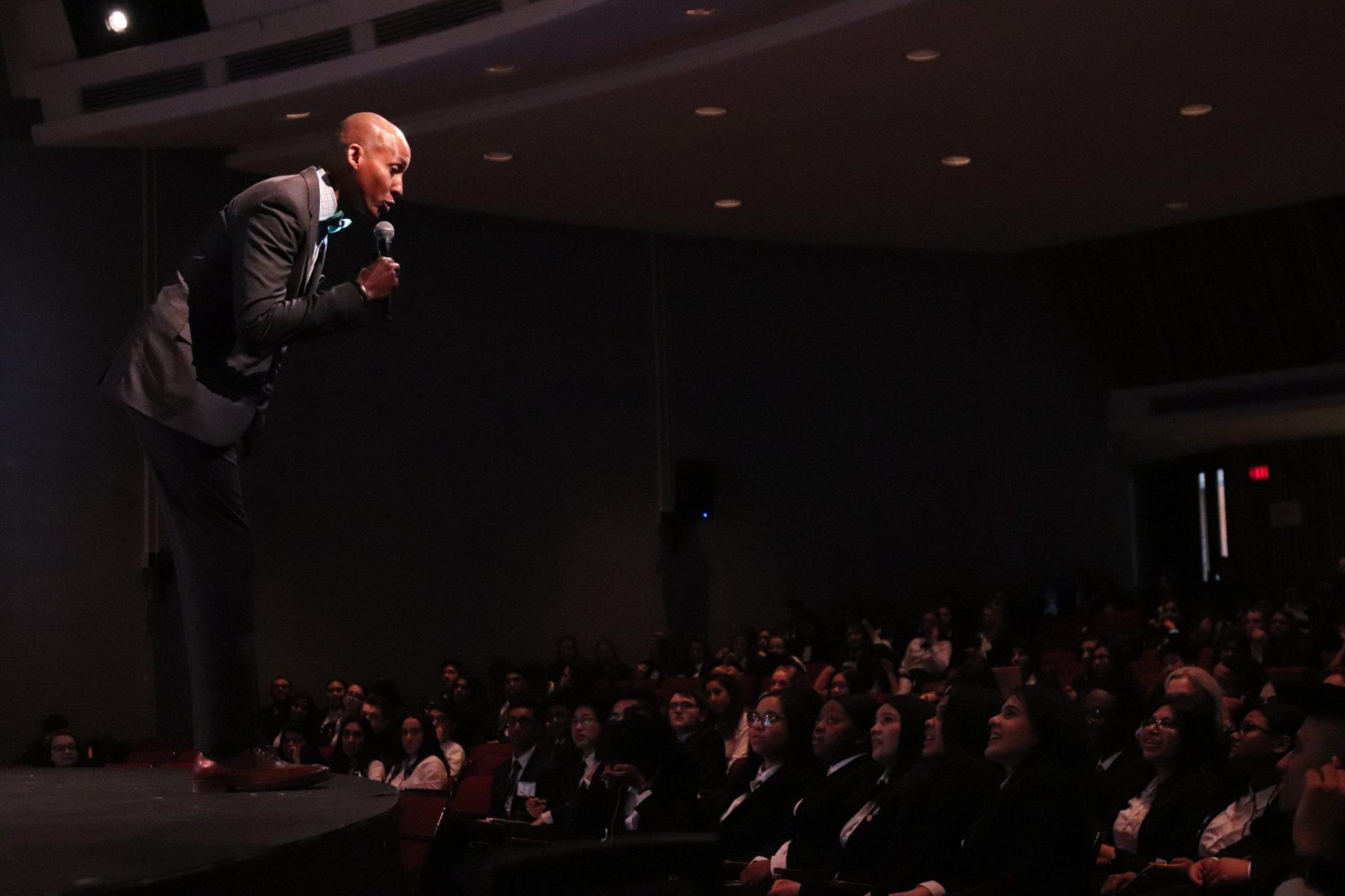 Frank Kitchen Speaking for NJ HOSA