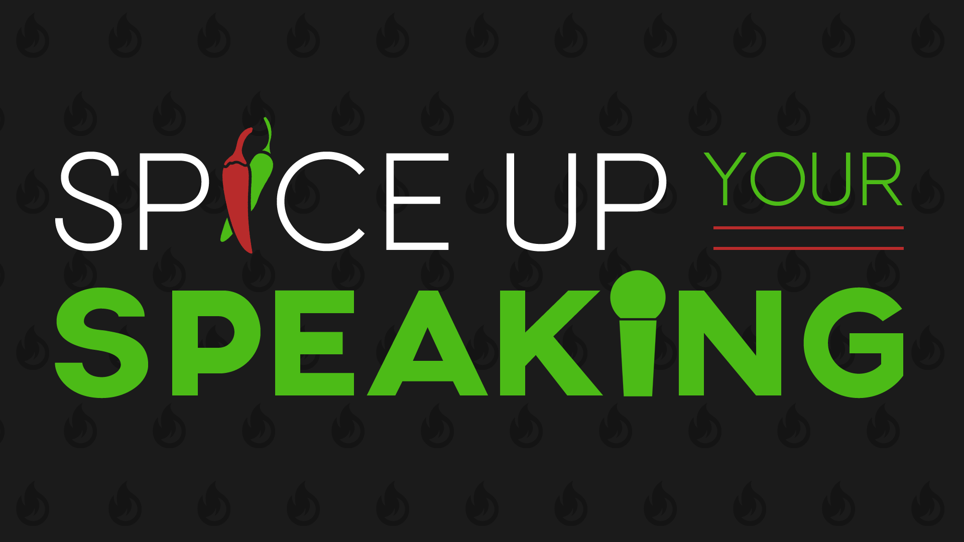 Spice Up Your Speaking Logo