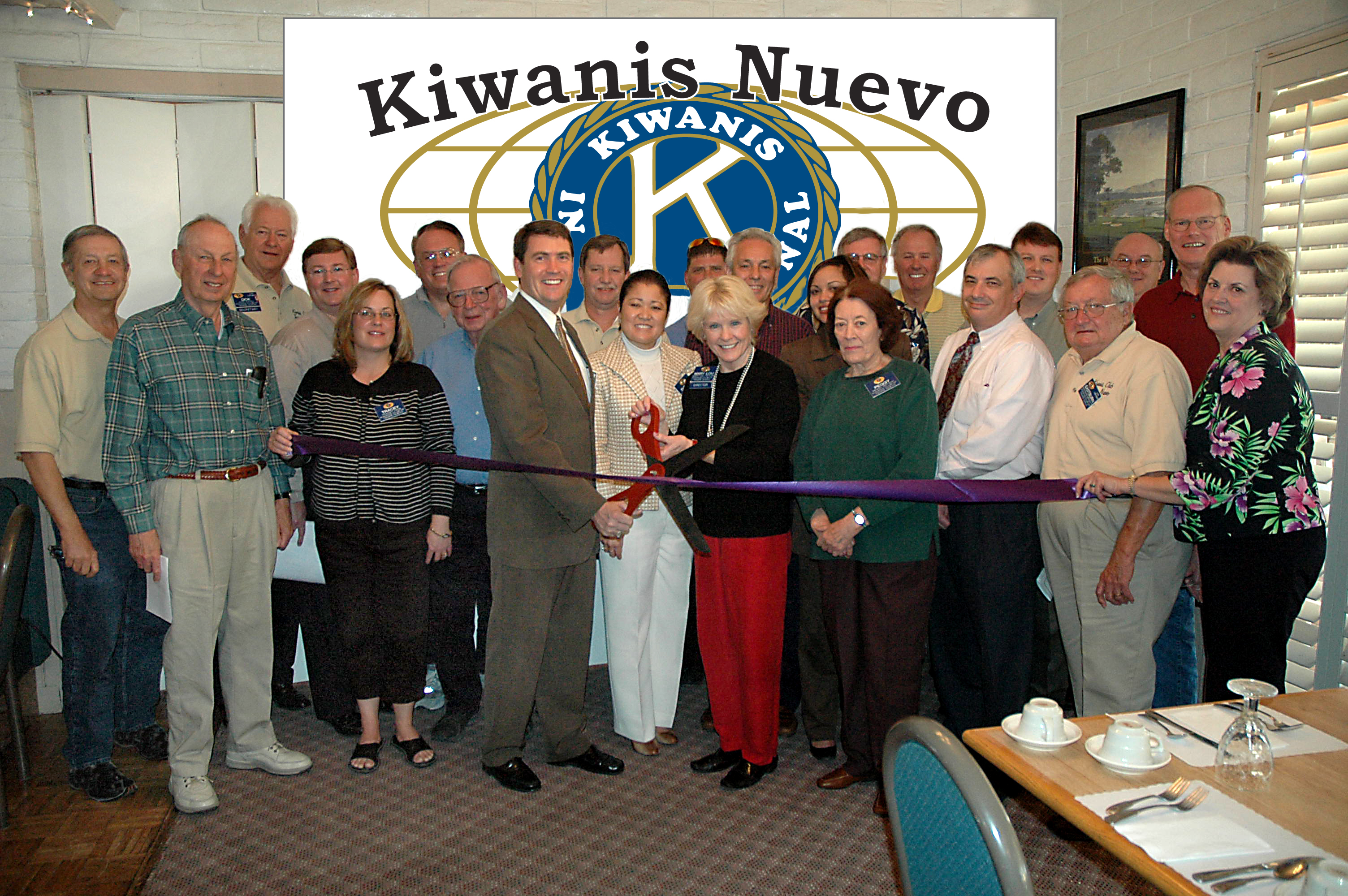Kiwanis Nuevo President