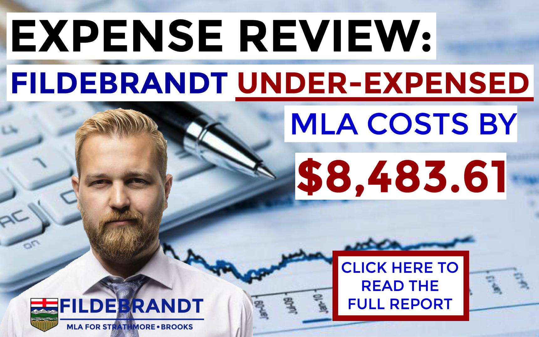 RELEASE: Review Finds Fildebrandt Under-Expensed $8,483, Calls for Full Audit of MLA Expenses