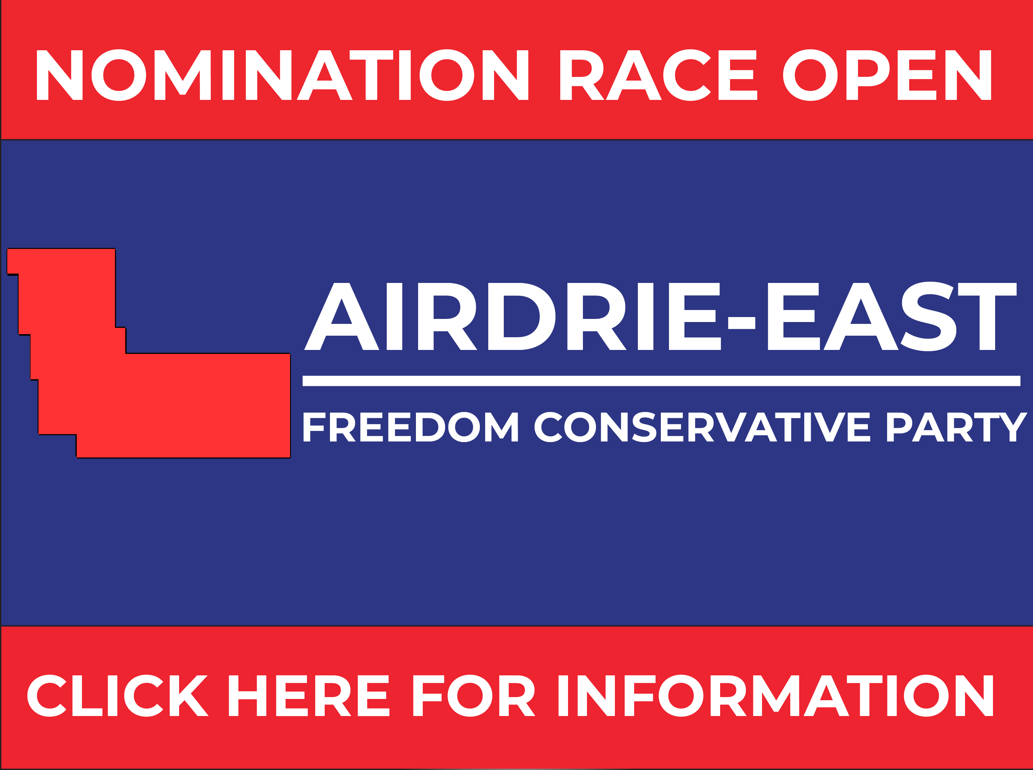 RELEASE: Airdrie-East FCP Nomination Opened