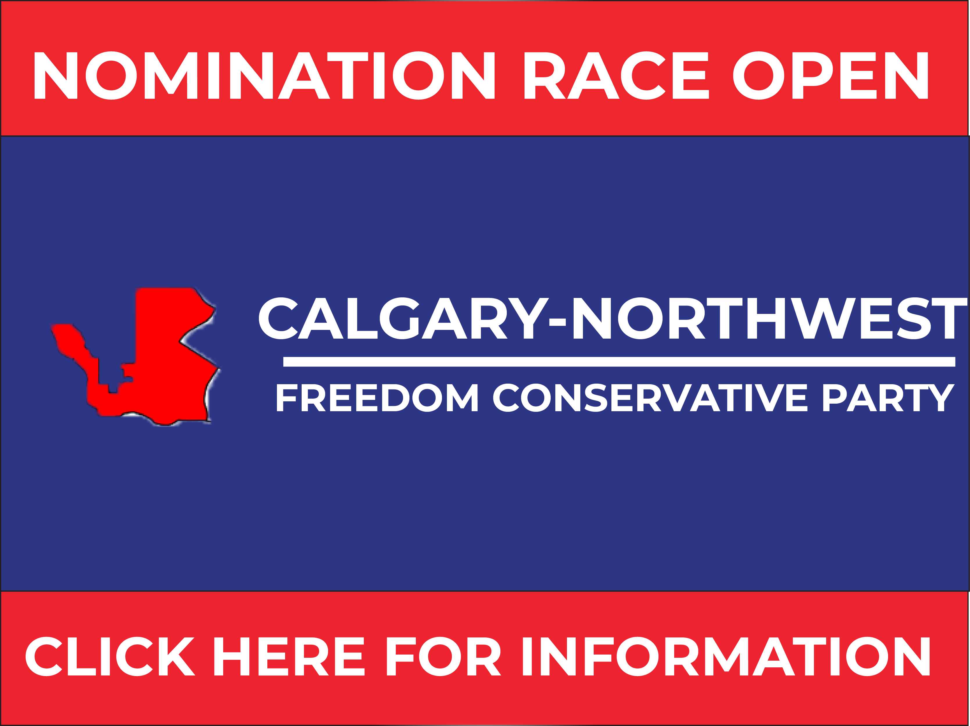 RELEASE: Calgary-North West FCP Nomination Opened