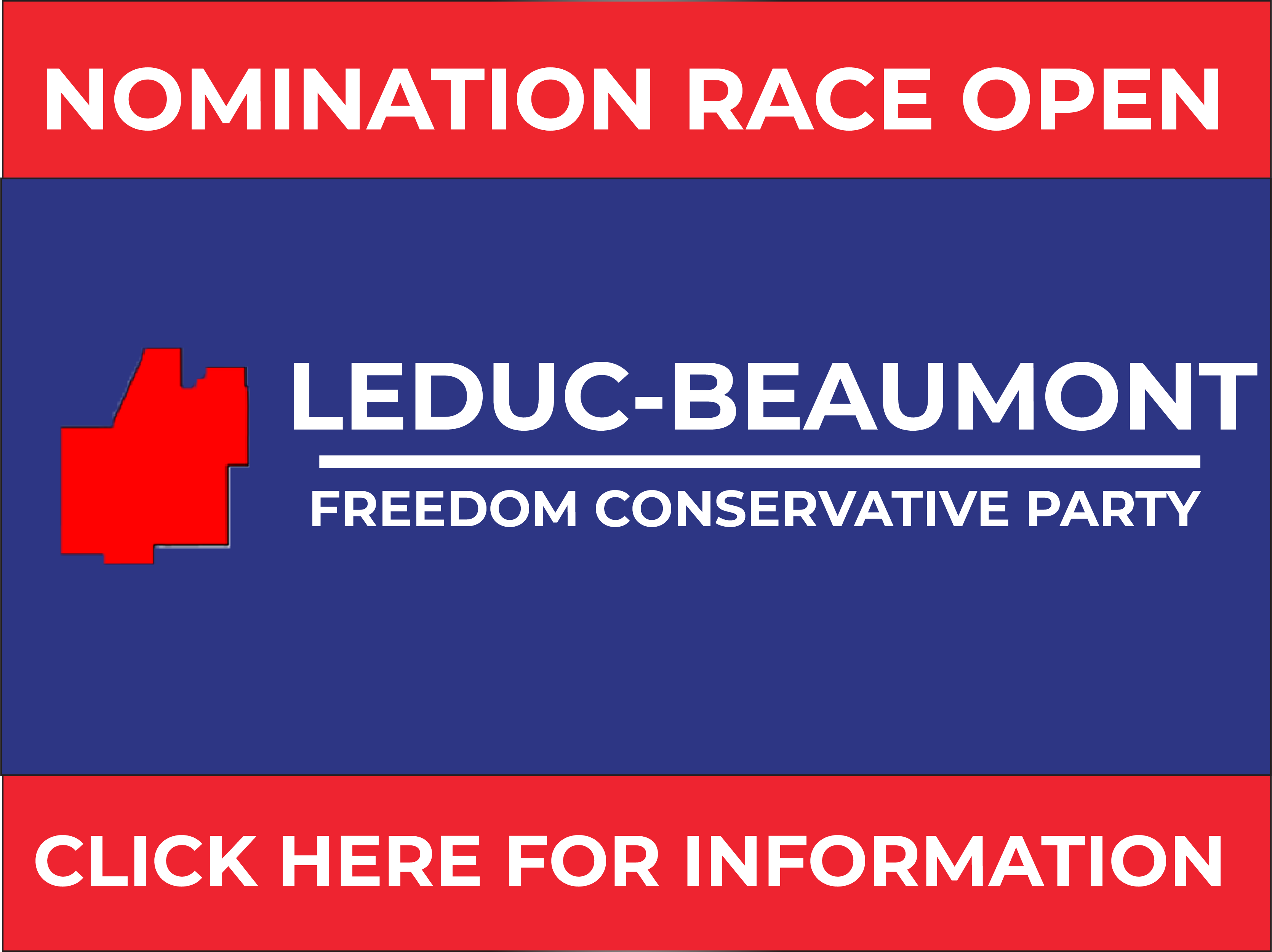 RELEASE: Leduc-Beaumont FCP Nomination Opened