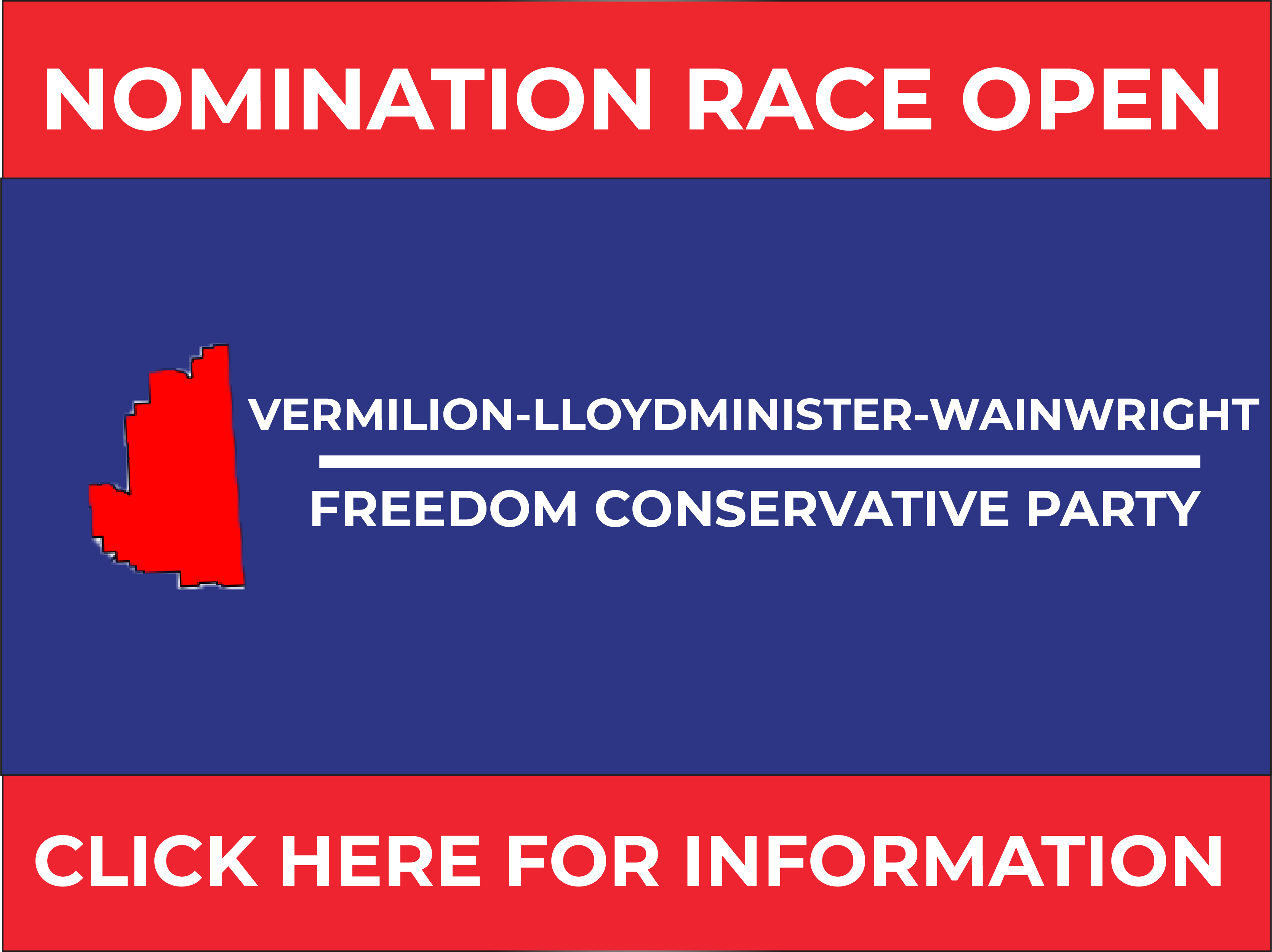 RELEASE: Vermilion-Lloydminster-Wainwright FCP Nomination Opened