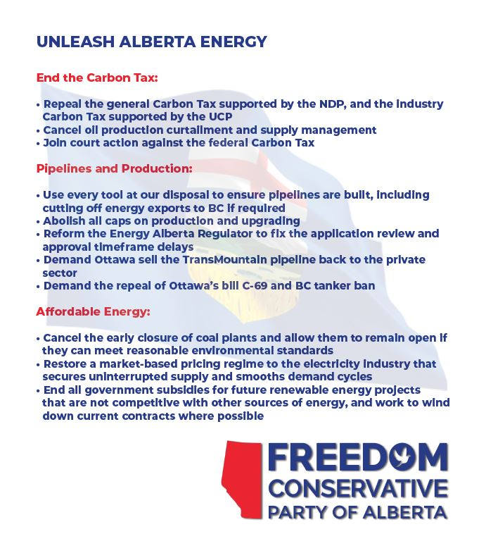 Policies - Freedom Conservative Party