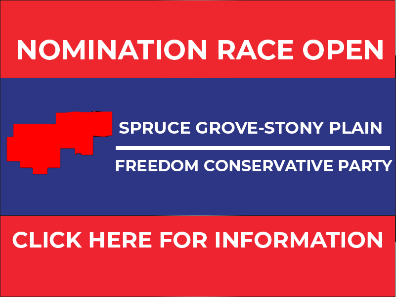 RELEASE: Spruce Grove-Stony Plain FCP Nomination Opened