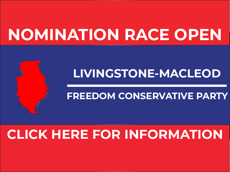 RELEASE: Livingstone-Macleod FCP Nomination Opened