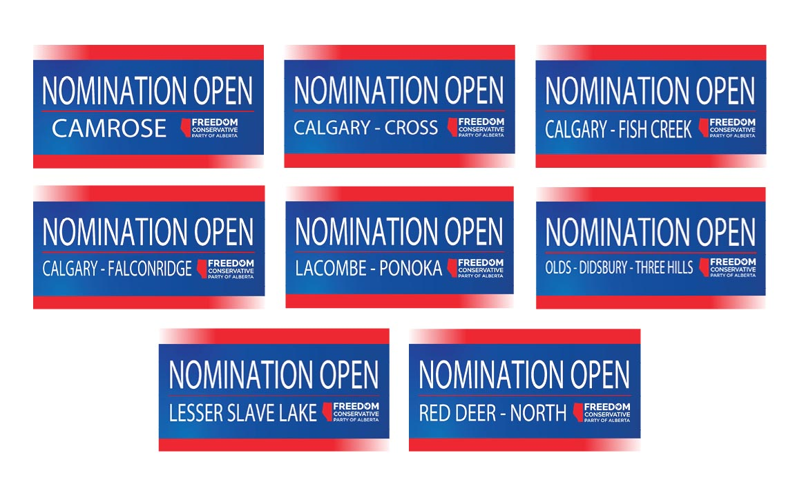 RELEASE: FCP Nominations Opened for 8 Constituencies