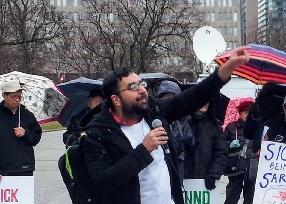 Mohammad Akbar, CFU Ontario Director