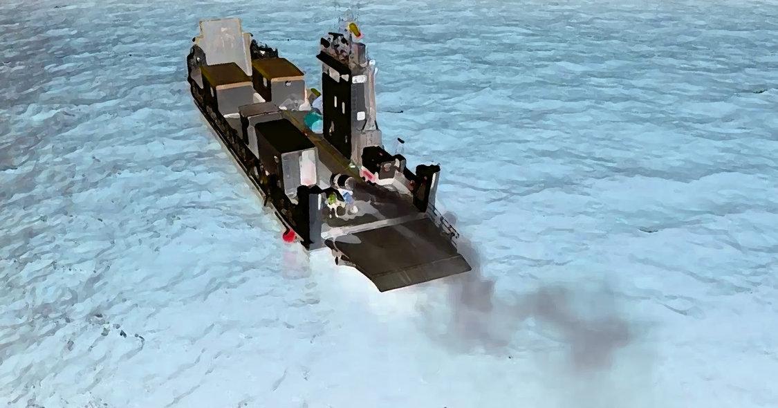 Geoengineering boat