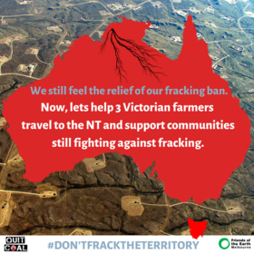 The Northern Territory needs our support!
