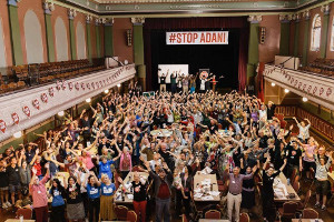 Over 300 people took part at the #StopAdani Summit