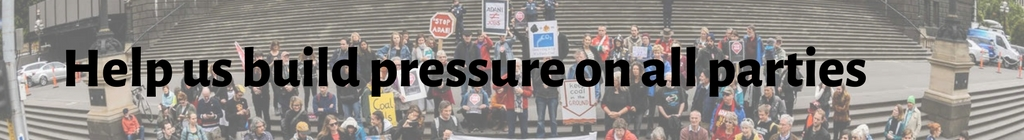 Help us build pressure on all parties