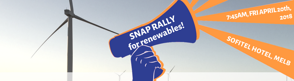 Snap Rally for Renewables