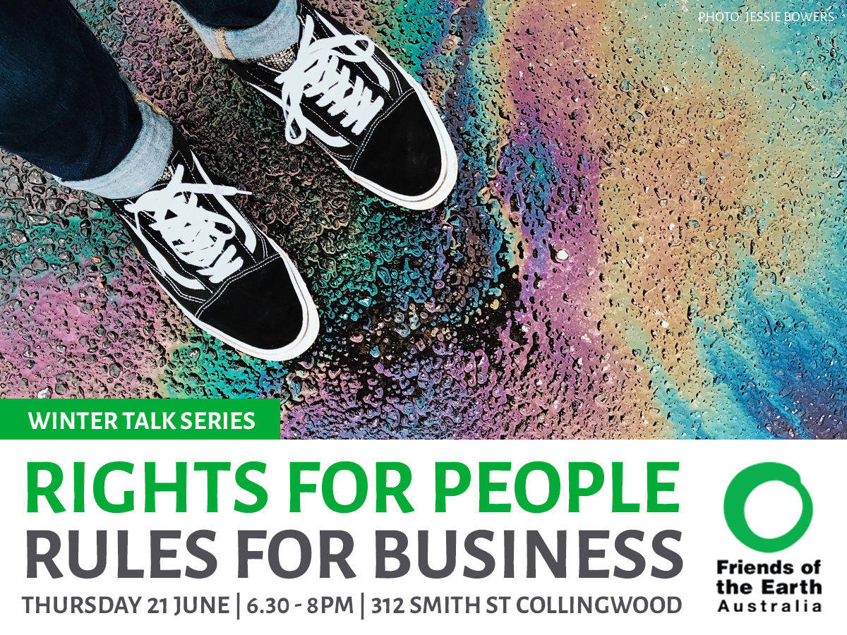 Rights for People - Rules for Business