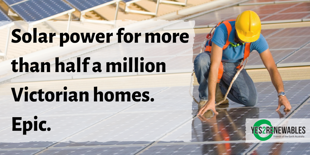 solar power for half a million homes