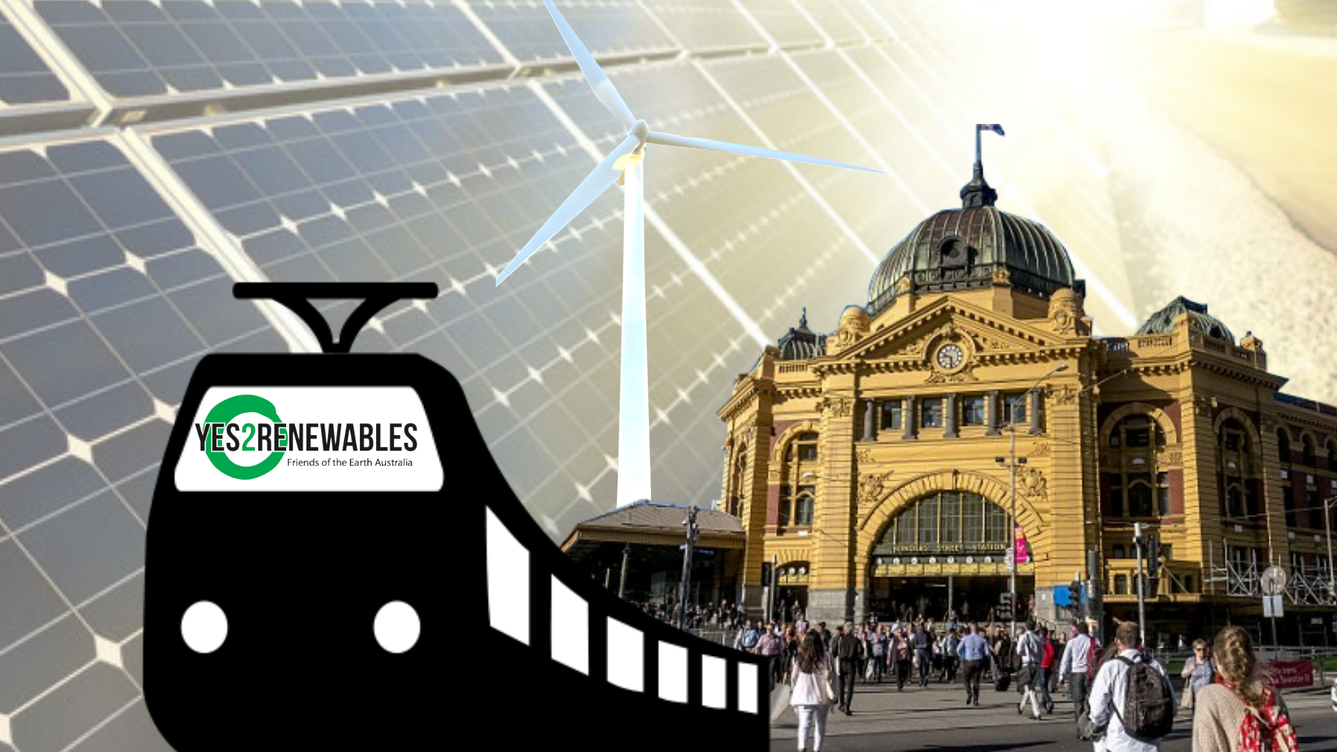 Renewable Powered Trains for Melbourne