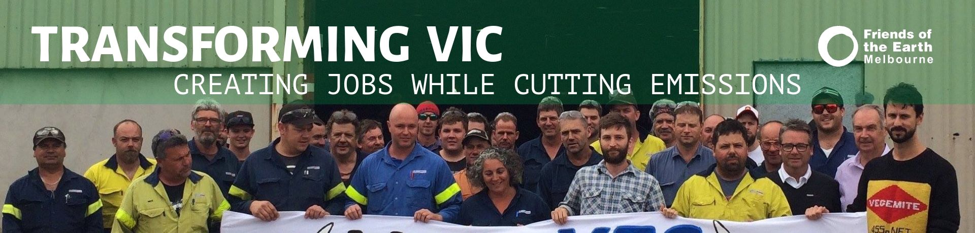 Transforming Victoria: creating jobs while cutting emissions
