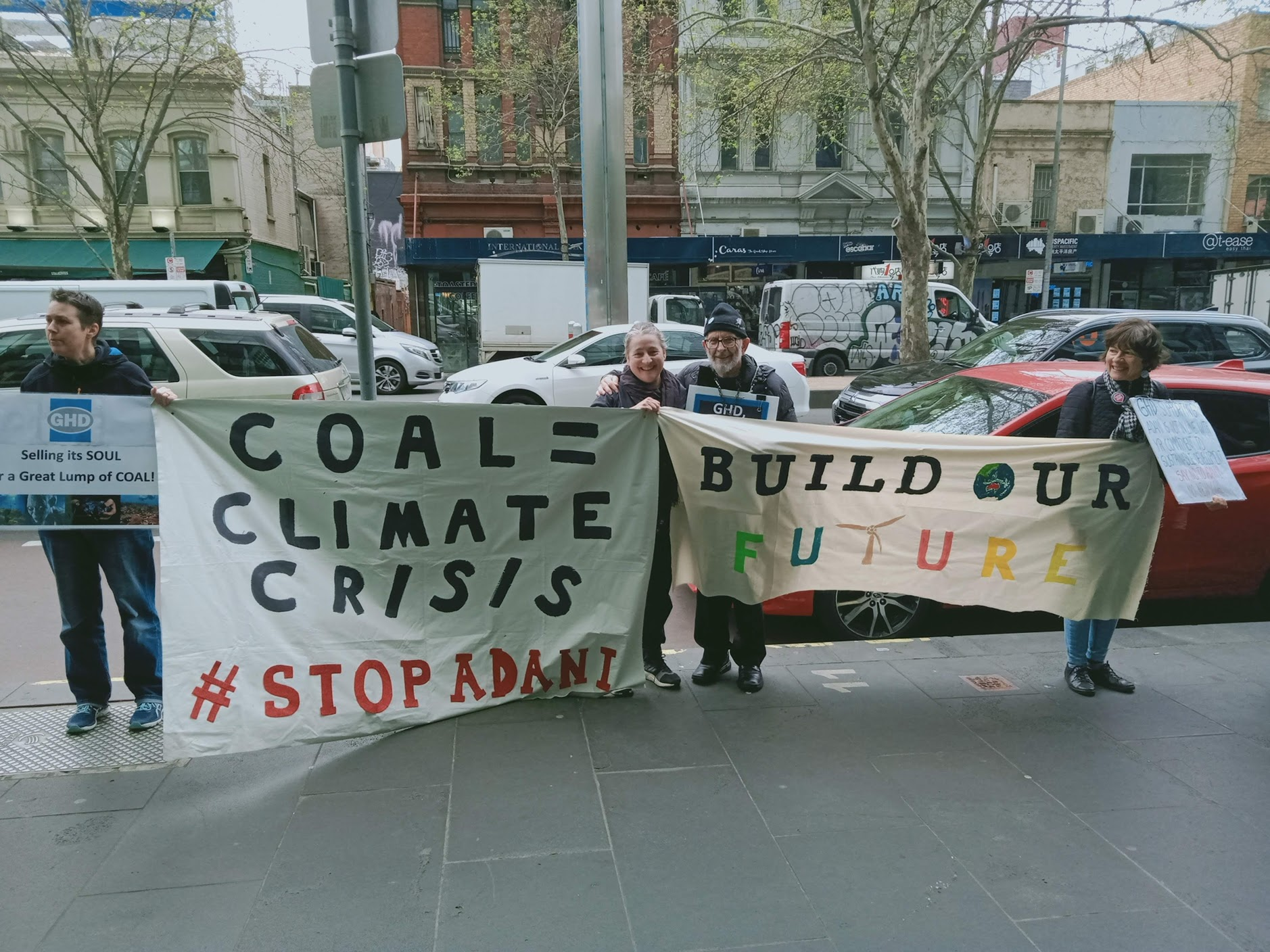 Stop Adani GHD Sustainable Cities Friends of the Earth Melbourne