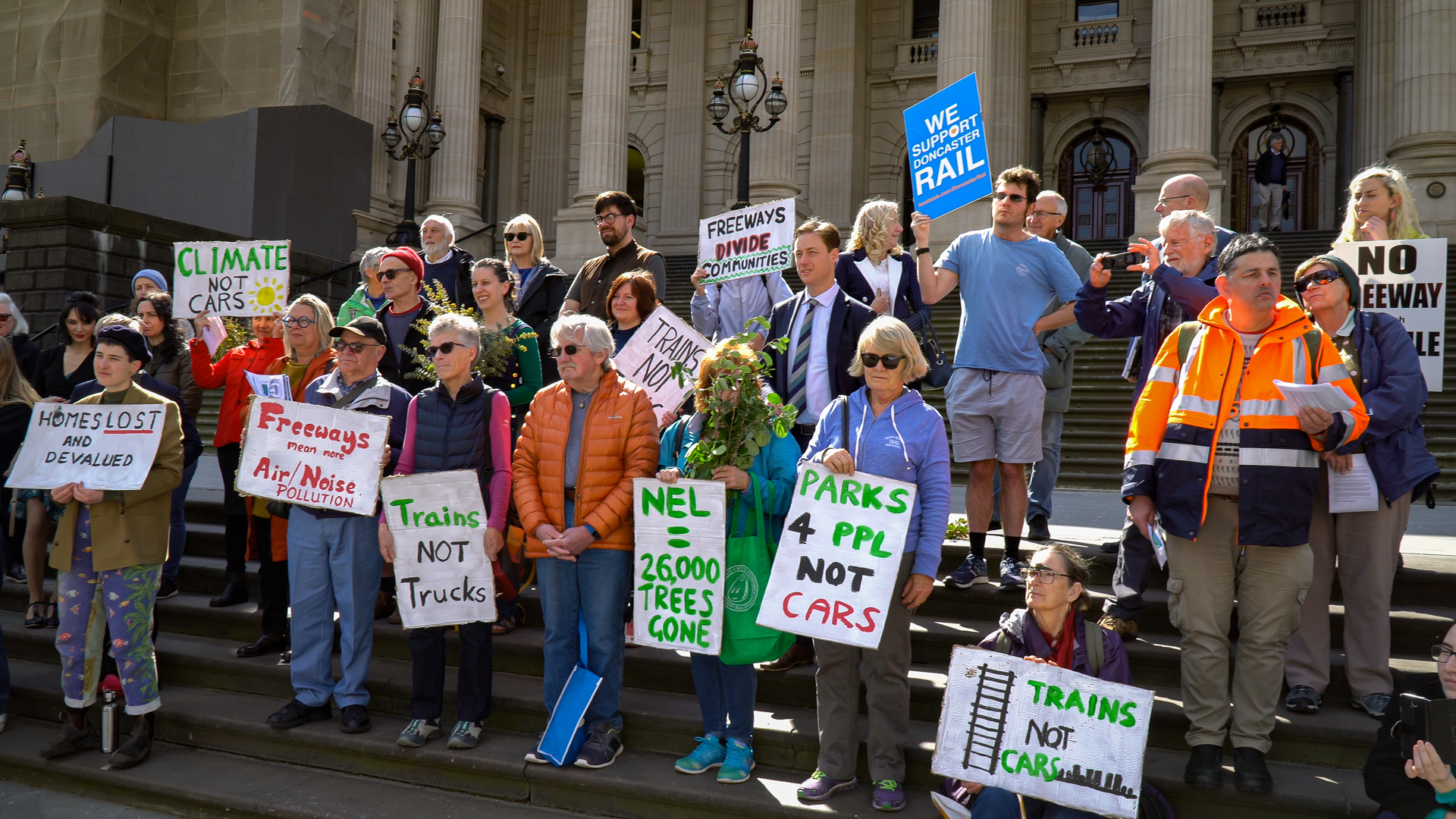 Stop North East Link Sustainable Cities