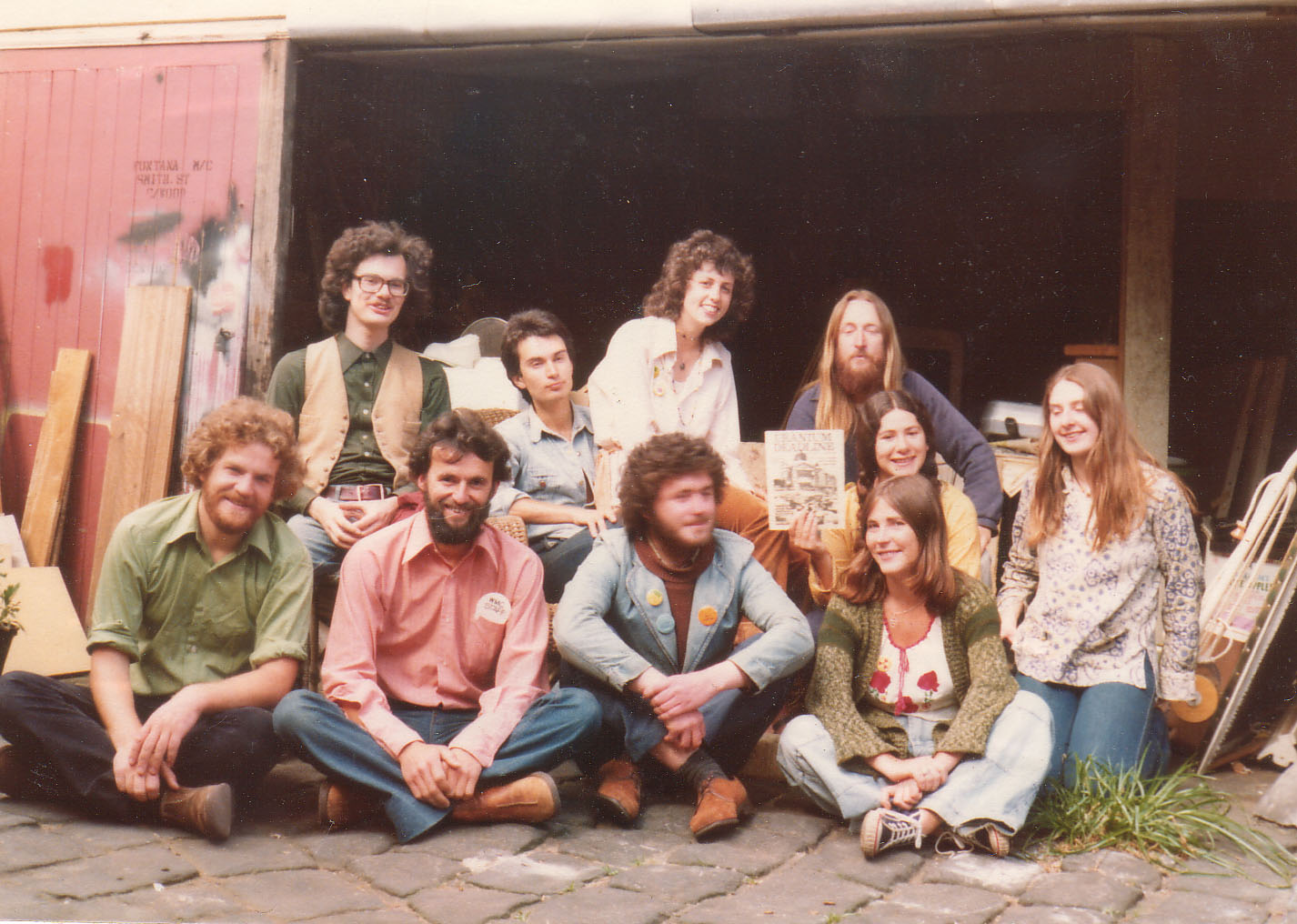 Friends of the Earth members 70s