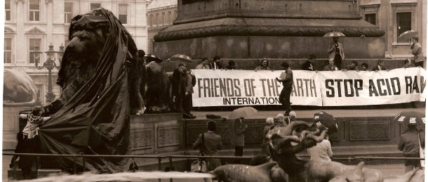 Friends of the Earth international protest