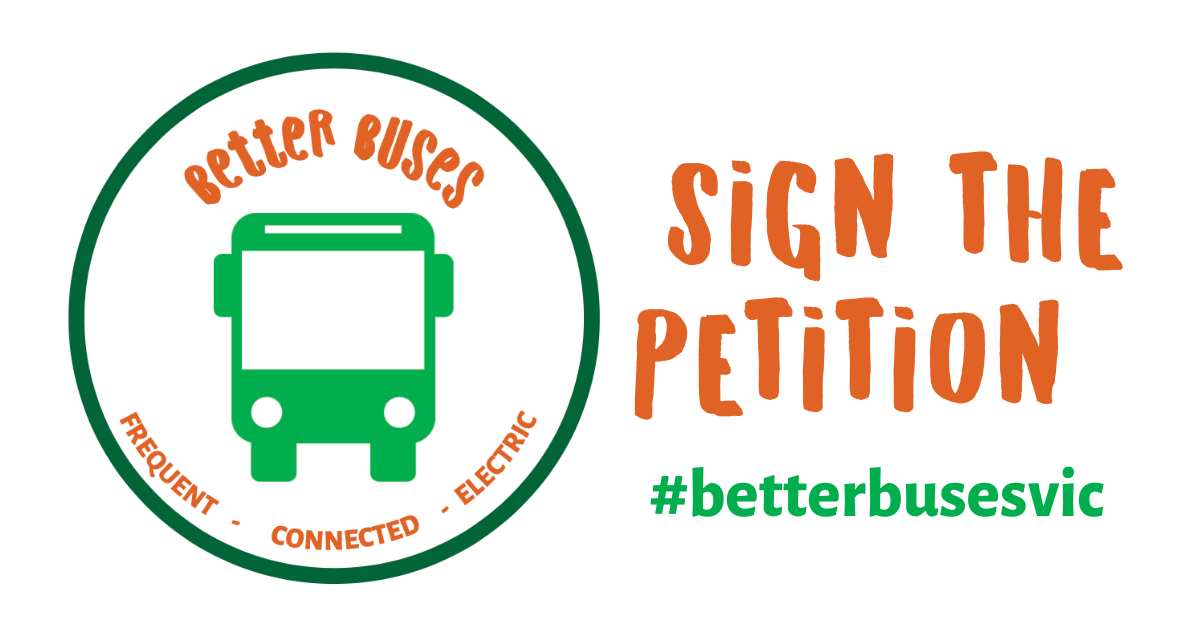 Better Buses Petition: Minister Ben Carroll, we want better buses!