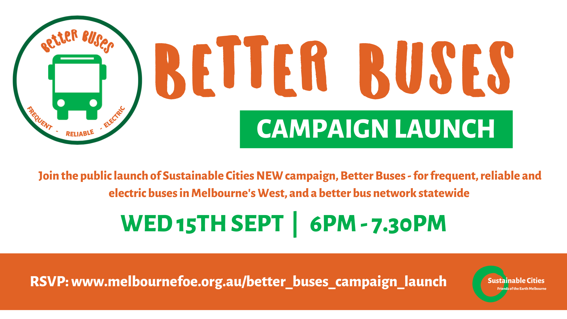 Better Buses campaign launch