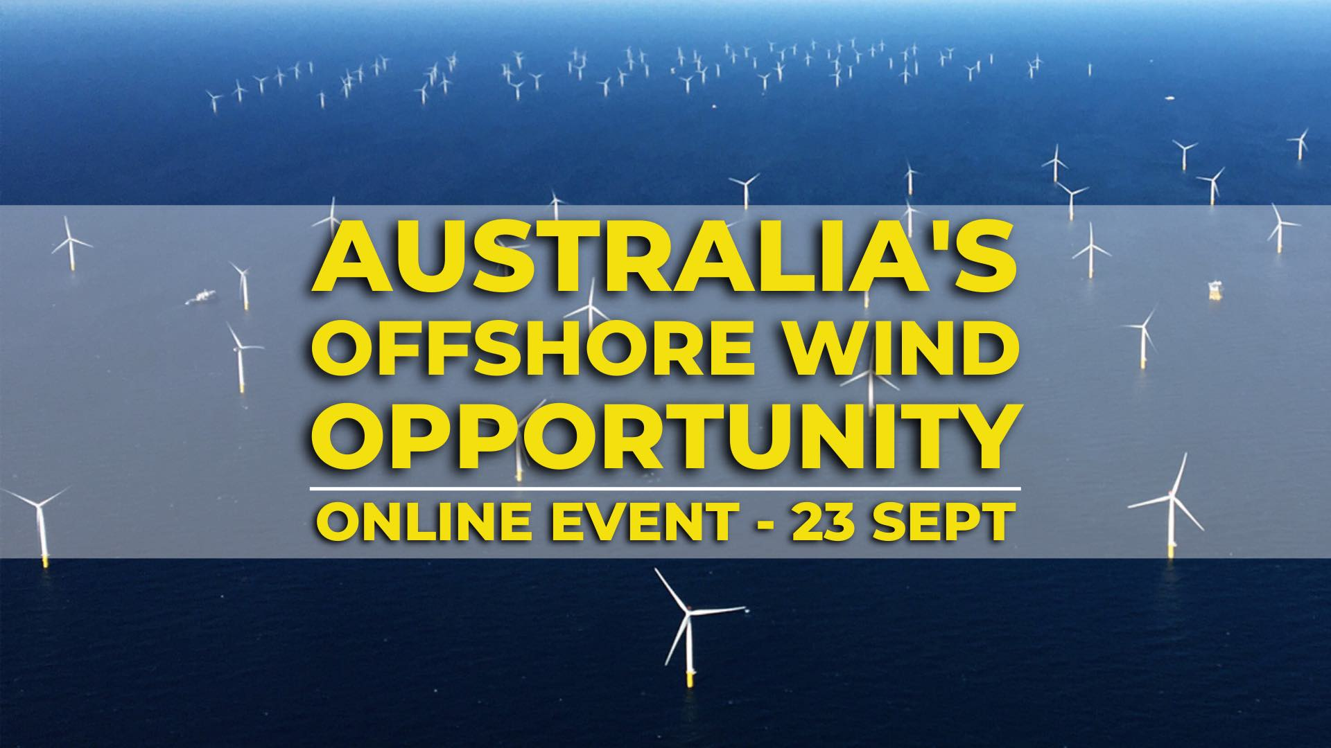 Opportunities for offshore wind event